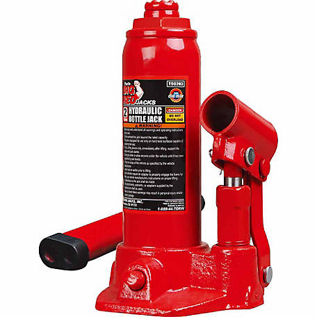 Big Red 2 Ton Bottle Jack in Case