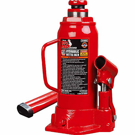 Big Red 10 Ton Bottle Jack