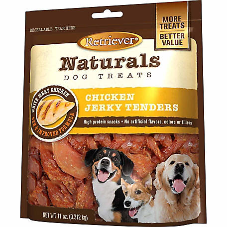 Retriever Naturals Chicken Jerky Tenders, 11 oz. Bag
