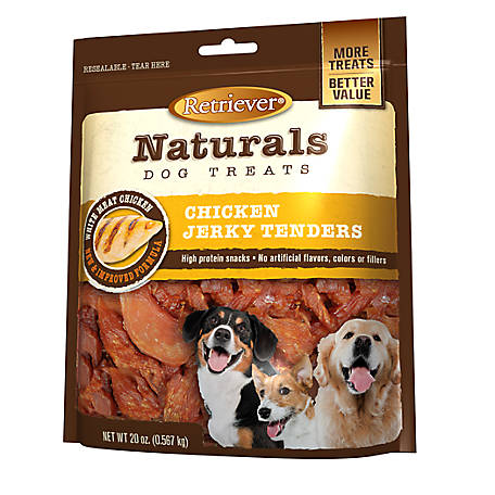 Retriever Naturals Chicken Jerky Tenders, 20 oz. Bag