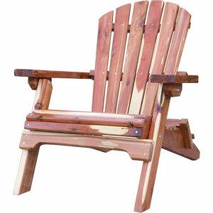 amerihome amish made folding adirondack chair