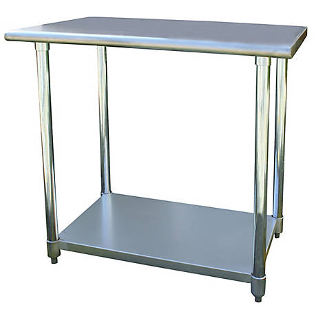 Sportsman Series Stainless Steel Work Table, 24 in. W x 36 in. L