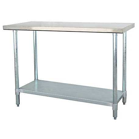 Sportsman Series Stainless Steel Work Table, 24 in. W x 60 in. L