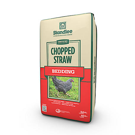 Standlee Premium Western Forage Certified Chopped Straw, 1600-70101-0-0