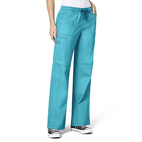 WonderWink Women's WonderFLEX Faith Multi-Pocket Cargo Pant
