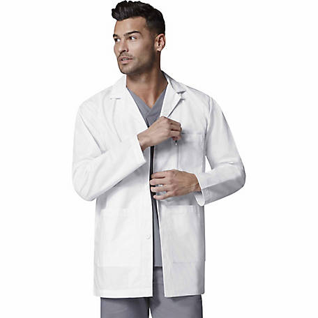 WonderWink Men's WonderLab Consultation Coat, Big Fit