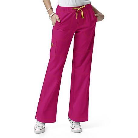 WonderWink Women's Four-Stretch Sporty Cargo Pant, Plus Fit