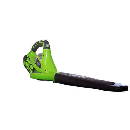 Greenworks 24252 G-MAX 40V 150 MPH Cordless Sweeper