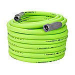 Flexzilla Flexzilla Garden Hose, 5/8 in. x 100 ft., 3/4 in. - 11 1/2 GHT Fittings, HFZG5100YW
