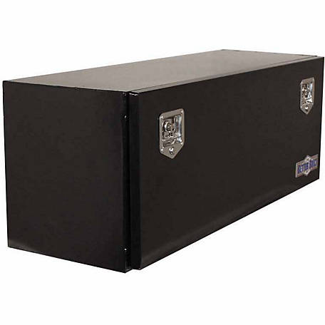 Better Built Black Steel Underbody Tool Box, 17 in. W x 48 in. L x 18 in. H