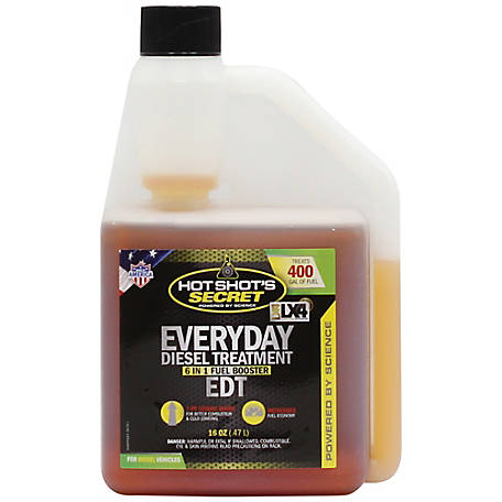 Hot Shot's Secret Everyday Diesel Treatment EDT Squeeze, 16 oz., HSSEDT16ZSP