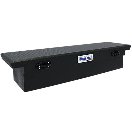 Better Built 70 in. Crossover Single Lid LO-PRO Truck Tool Box, Matte Black