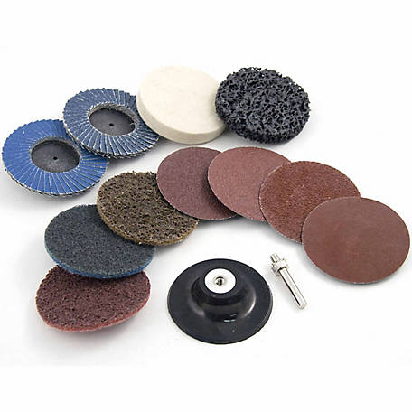 Mibro 12-Piece Twistlock Abrasive Set