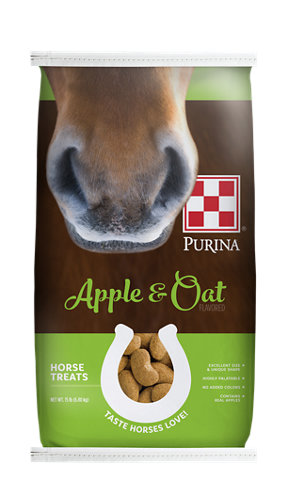 Image result for purina apple oat horse treats