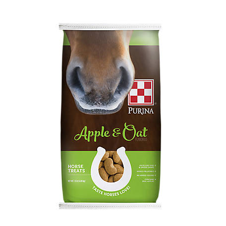 Purina Apple and Oat-Flavored Horse Treats, 15 lb.