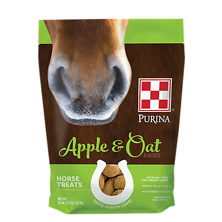 Purina Horse Treats Apple and Oat Flavored, 3.5 lb.