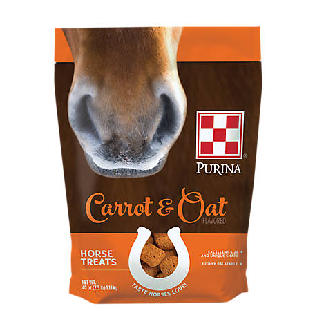 Purina Purina Carrot and Oat-Flavored Horse Treats, 2.5 lb.
