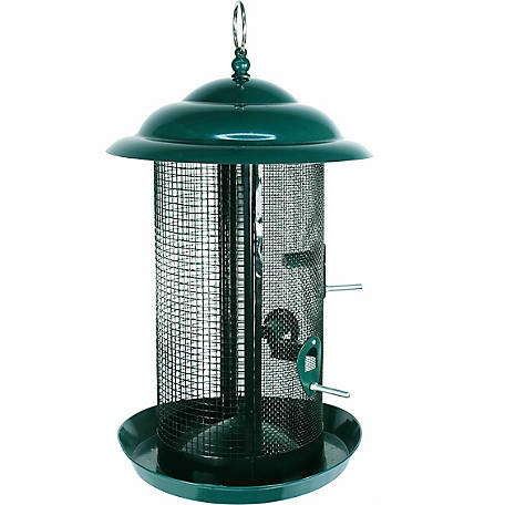Woodlink Large Combination Nyjer/Mixed Seed Mesh Feeder
