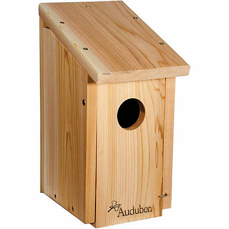 Woodlink Cedar Wood Woodpecker House