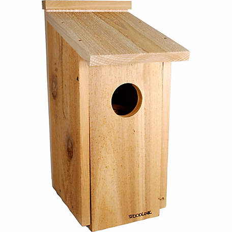 Woodlink Cedar Wood Screech Owl/Kestrel House