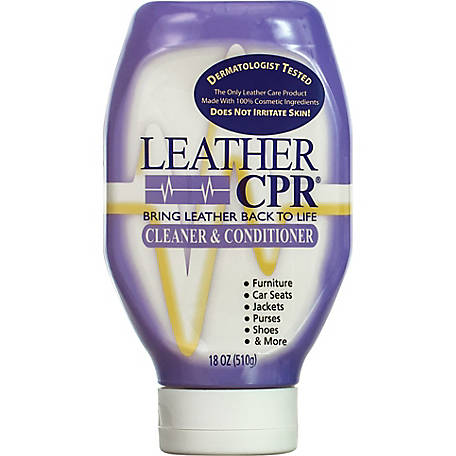 CPR Cleaning Products Leather CPR Cleaner and Conditioner, 18 oz. Squeeze Bottle