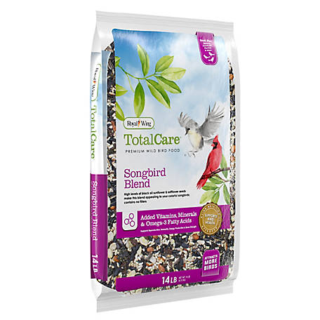 Royal Wing Total Care Total Care Songbird Blend, 14 lb.