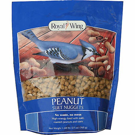 Royal Wing Peanut Suet Nuggets, 27 oz.