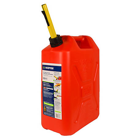 Plastic Gas Cans >> Scepter 5 3 Gal Military Style Gas Can Epa 05086 At Tractor Supply Co