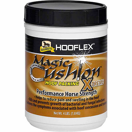 Absorbine Hooflex Magic Cushion Xtreme Hoof Packing, 4 lb.