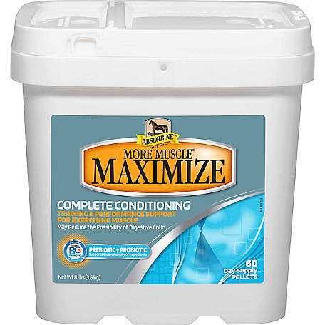 Absorbine More Muscle Maximize, 8 lb. Bucket
