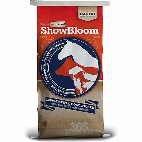F.L. Emmert Company Show Bloom Livestock Supplement, 25 lb.