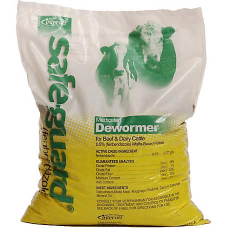Merck Animal Health Safe-Guard Medicated Dewormer Pellets, 10 lb  Bag at  Tractor Supply Co