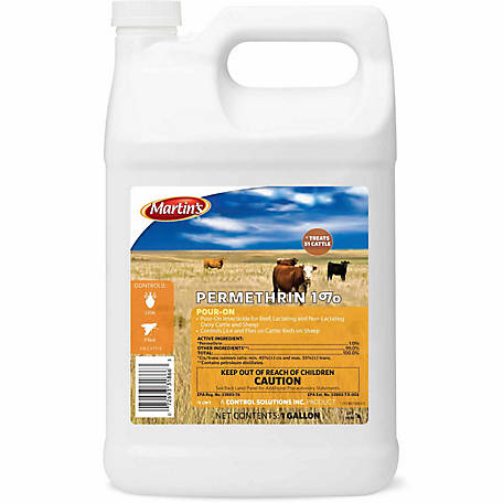 Martin's Permethrin 1% Pour-On, 1 gal.