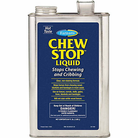 Farnam Chew Stop Liquid, 64 oz.