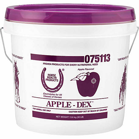 Horse Health Apple-Dex Electrolytes, 30 lb. Pail