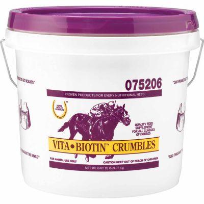 Buy Horse Health Vita Biotin Crumble; 20 lb. Pail Online