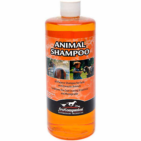 First Companion 21254934 All-Purpose Animal Shampoo, 32 oz.
