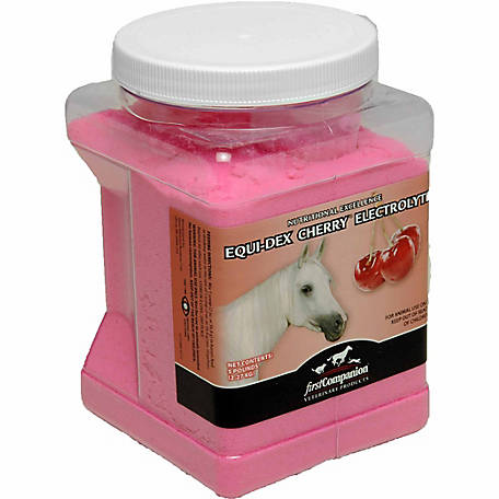 First Companion EQU-Dex Cherry Electrolyte, 5 lb. Pail