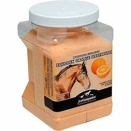 First Companion EQU-Dex Orange Electrolyte, 5 lb. Pail