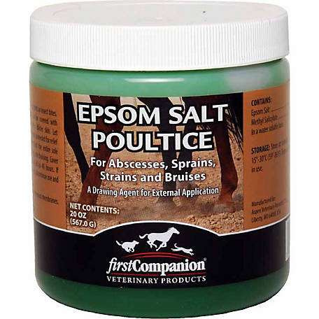 First Companion Epsom Salt Poultice, 20 oz.