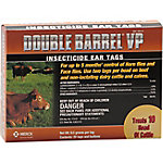 Schering Plough Double Barrel VP Insecticide Ear Tags, Pack of 20