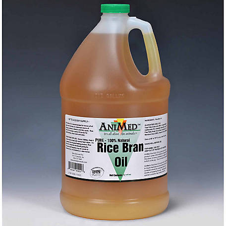 AniMed Pure Rice Bran Oil, 1 gal.