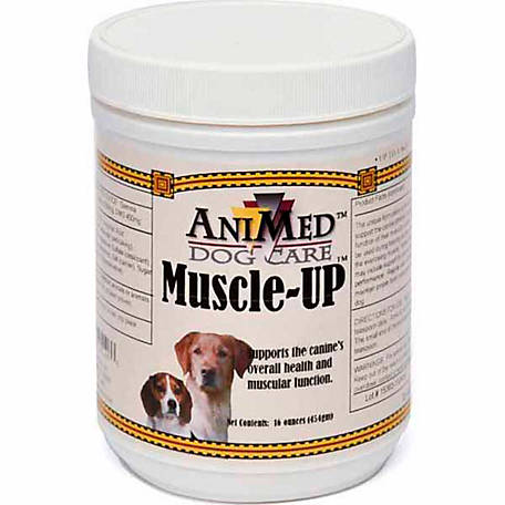 AniMed Muscle-Up Dog Powder, 16 oz.