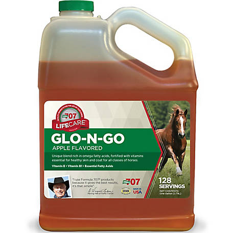 Formula 707 Glo-N-Go Liquid Fat Supplement, 1 gal.
