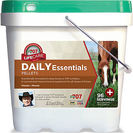 Formula 707 Daily Essentials, 12 lb.