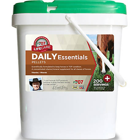 Formula 707 Daily Essentials, 25 lb.