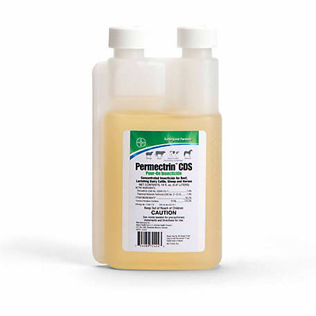 Bayer Permectrin CDS Pour-On Insecticide, 16 oz.