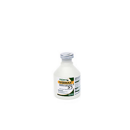 Aspen Vet Resources Ivermax Injectable 1%, 50 mL