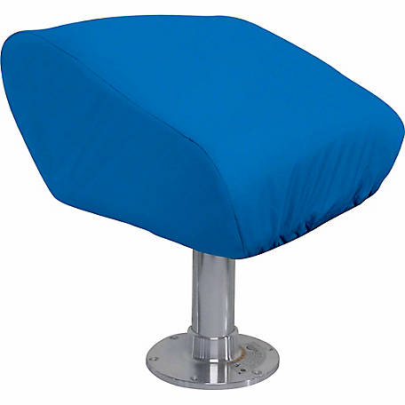 Classic Accessories Stellex Boat Folding Seat Cover, Blue, 20 in. W x 17-1/4 in. L