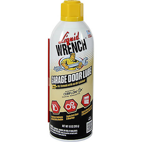 Liquid Wrench Garage Door Lube, 10 oz.